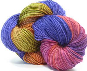 """""""new"""" Ultimate Sock in a new colorway for CNCH 2010"""